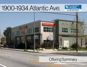 Atlantic Ave. Offering Summary