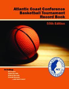 Atlantic Coast Conference Basketball Tournament Record Book