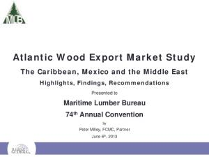 Atlantic Wood Export Market Study
