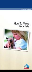 Atlas How To Series. How To Move Your Pets