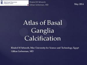 Atlas of Basal Ganglia Calcification
