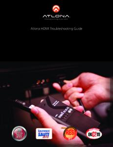 Atlona HDMI Troubleshooting Guide