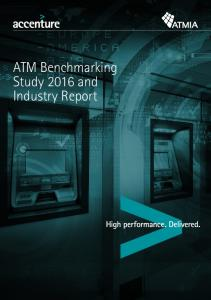ATM Benchmarking Study 2016 and Industry Report