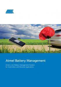 Atmel Battery Management