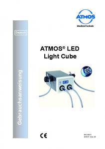 ATMOS LED Light Cube