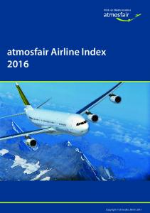 atmosfair Airline Index 2016