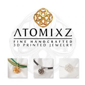 ATOMIXZ 3D PRINTED JEWELLRY Inspired by nature, created by science