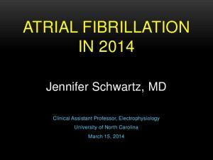ATRIAL FIBRILLATION IN 2014