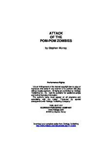 ATTACK OF THE POM-POM ZOMBIES