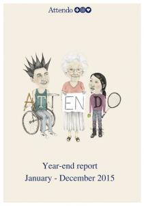Attendo AB (publ) Year-end report January December 2015