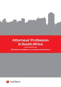 Attorneys Profession in South Africa Review LexisNexis Law Society of South Africa