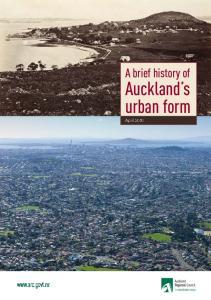 Auckland s urban form