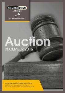 Auction DECEMBER L.S.Sangra