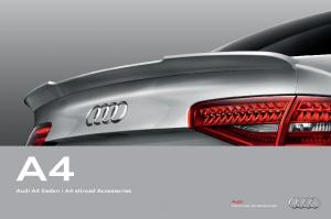 Audi A4 Sedan A4 allroad Accessories. Audi Genuine Accessories
