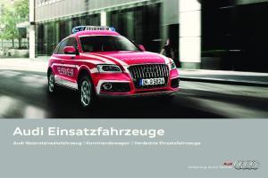 Audi Einsatzfahrzeuge
