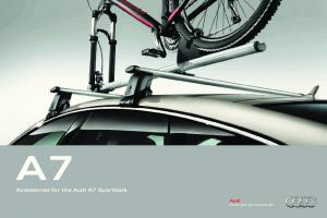 Audi Genuine Accessories. As individual as you are