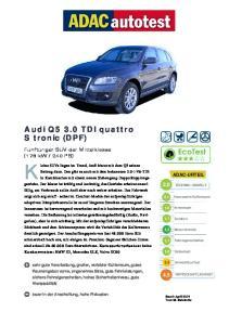 Audi Q5 3.0 TDI quattro S tronic (DPF)