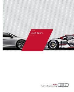 Audi Sport R8 RS S