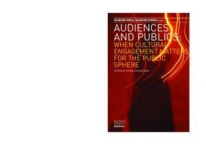 AUDIENCES AND PUBLICS: