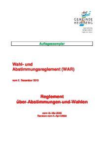 Auflageexemplar. vom 2. Dezember 2013