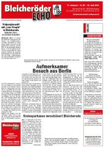 Aufmerksamer Besuch aus Berlin Grund (CDU) sah sich Staatsministerin