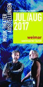 AUG 2017 MUSIK THEATER. weimar. weimarer land