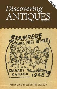 August 2014 ANTIQUING IN WESTERN CANADA