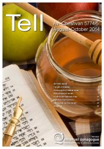 August October 2014 IN THIS ISSUE