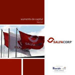 aumento de capital Mayo 2011 Asesor Financiero