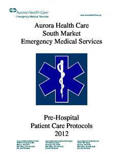 Aurora Health Care South Market Emergency Medical Services