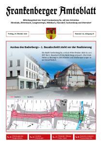 Ausbau des Baderbergs 1. Bauabschnitt steht vor der Realisierung
