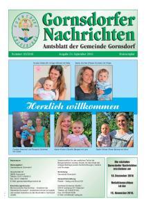 Ausgabe 24. September Herzlich willkommen