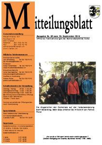 Ausgabe Nr. 09 vom 30. September 2016