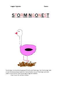 Ausgabe: September Cammin STORMINGONEST