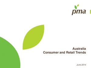 Australia Consumer and Retail Trends