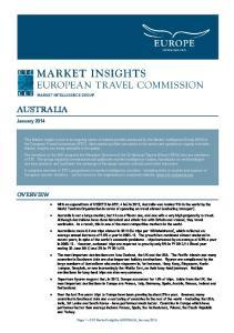 AUSTRALIA OVERVIEW. January 2014