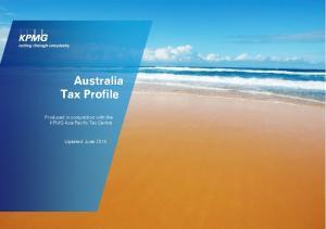 Australia Tax Profile