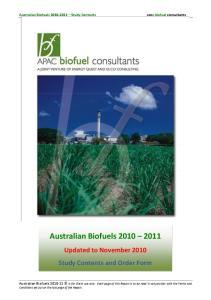 Australian Biofuels
