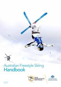 Australian Freestyle Skiing. Handbook
