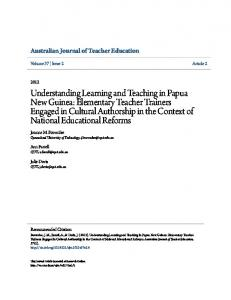 Australian Journal of Teacher Education