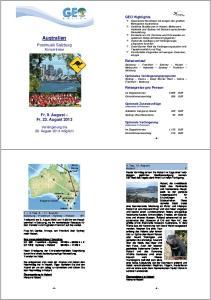 Australien. Postmusik Salzburg Konzertreise. Fr, 9. August Fr, 23. August GEO Highlights. Reiseverlauf. Reisepreise pro Person