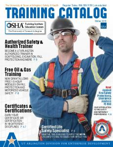 Authorized Safety & Health Trainer. Free Oil & Gas Training. Certificates & Certifications. Certified Life Safety Specialist P. 5