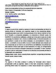 Authors Resumen Palabras clave: Abstract