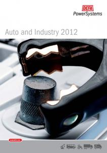 Auto and Industry 2012