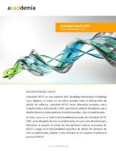 Autodesk Revit MEP. Aire Acondicionado