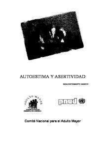 AUTOESTIMA Y ASERTIVIDAD