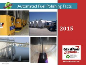 Automated Fuel Polishing Facts