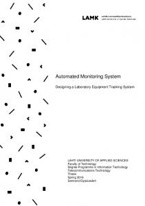 Automated Monitoring System