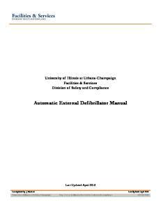 Automatic External Defibrillator Manual