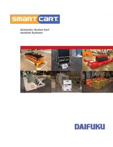 Automatic Guided Cart Installed Systems